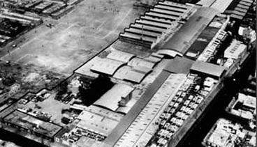Las primeras instalaciones de la empresa