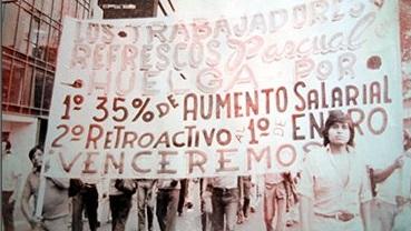 En marzo de 1982 el gobierno decretó un aumento a los salarios del 10, 20 y 30%